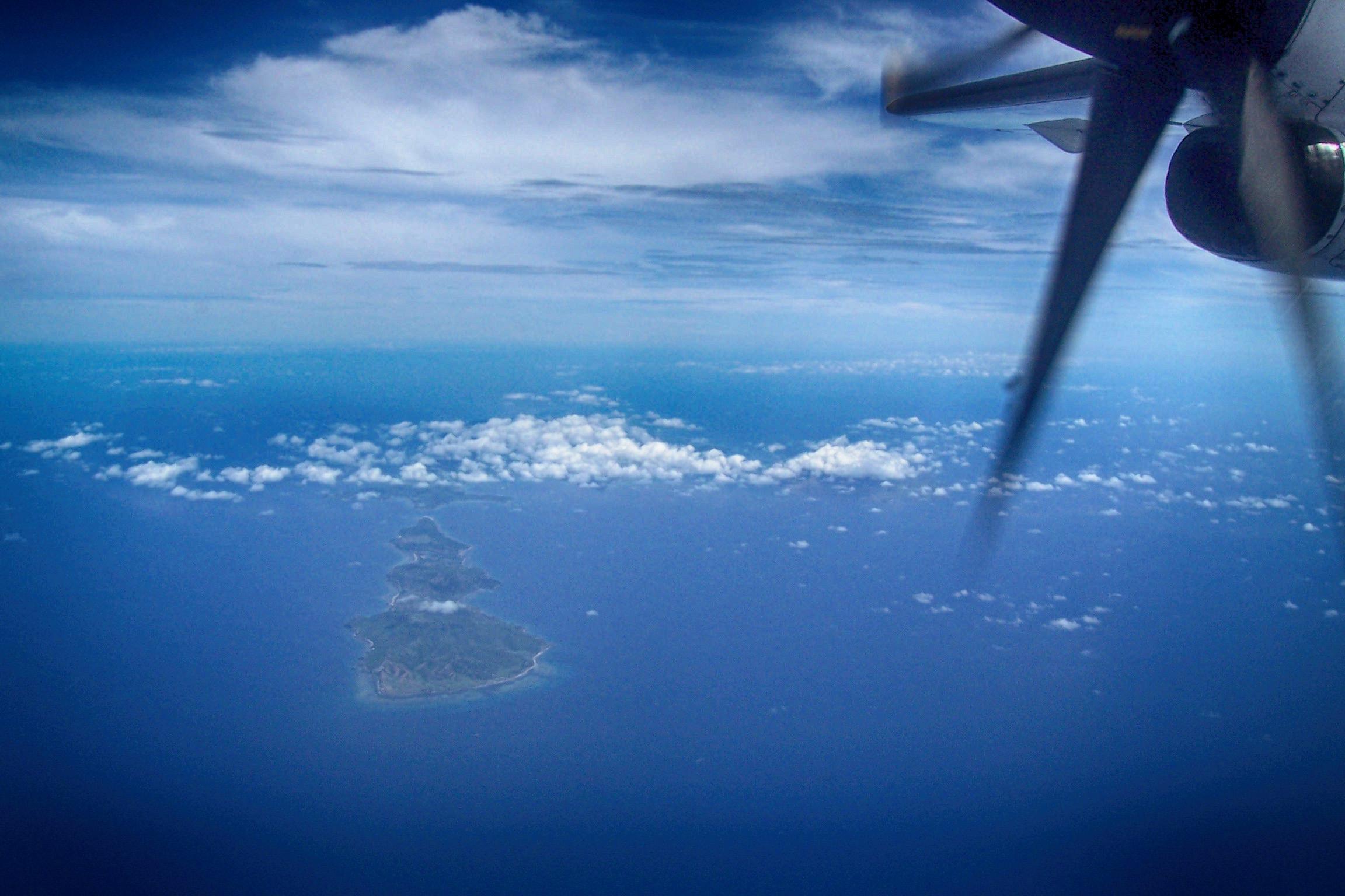 Flug nach Busuanga, Palawan (Philippinen)