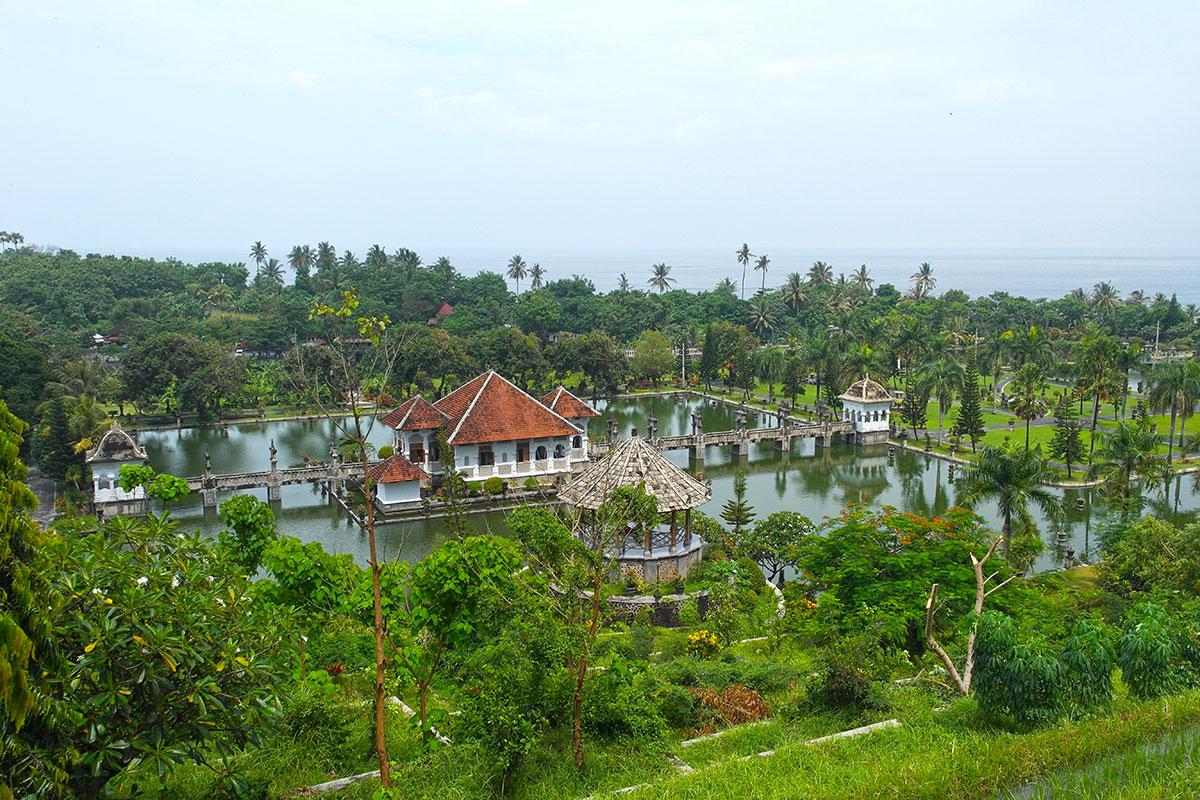 Palast auf Bali in Indonesien