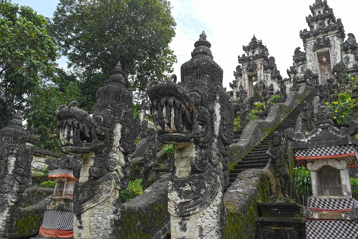 Tempelanlage auf Bali