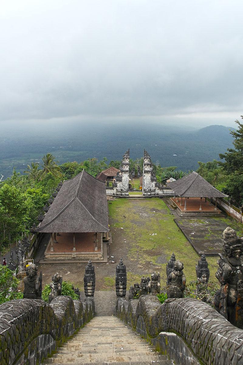 Tempelanlage auf Bali / Indonesien