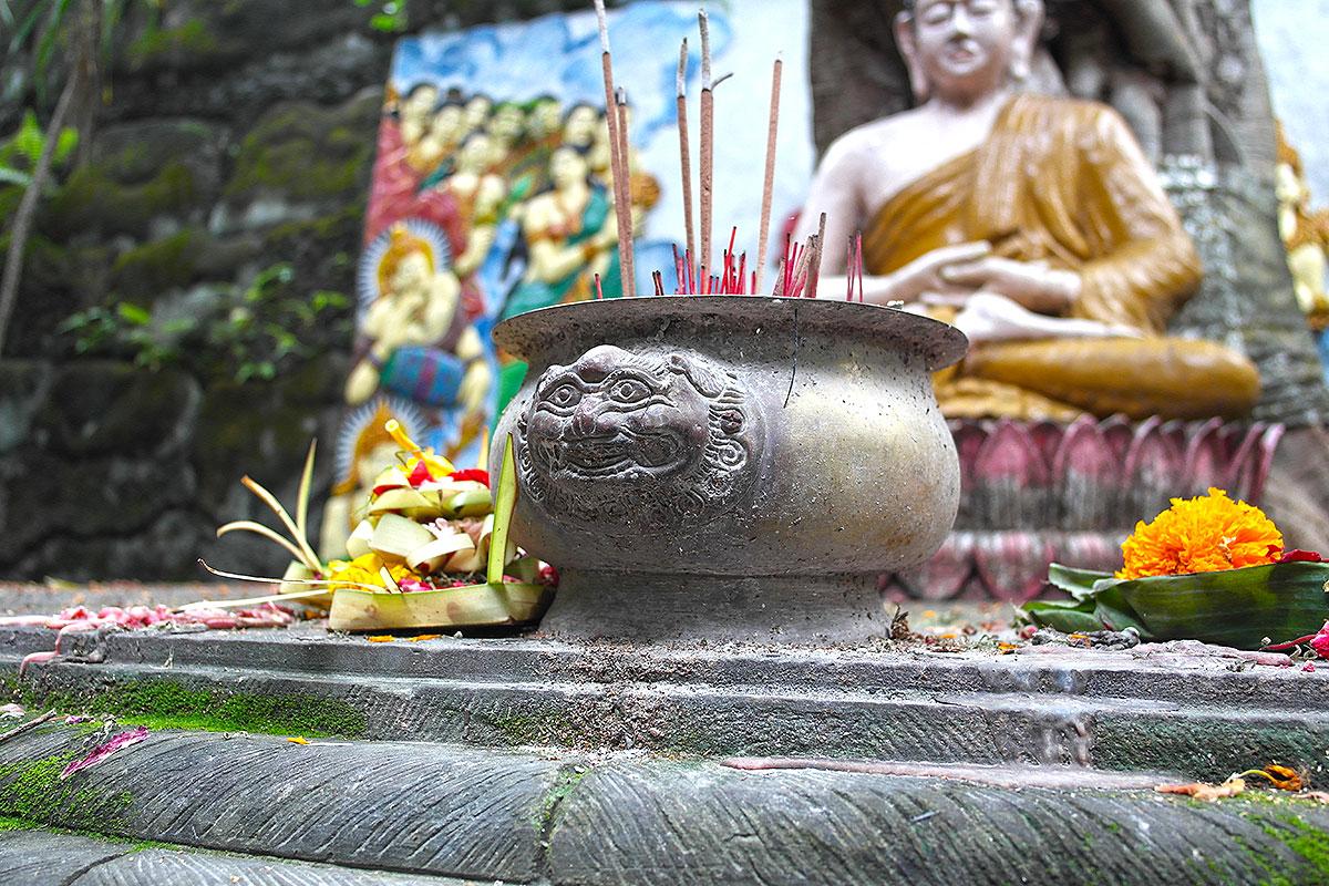 Opfergaben auf Bali / Indonesien