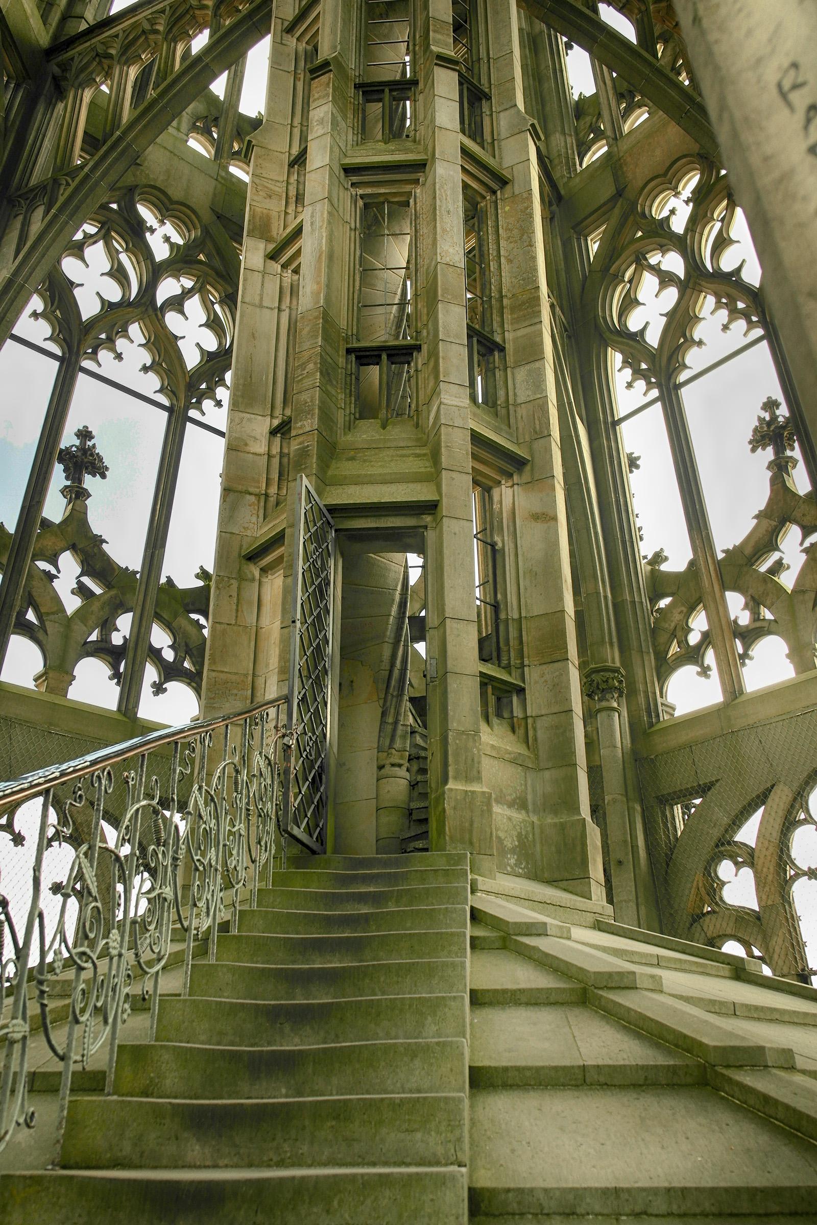 Ulmer Münster - Aufstieg zur Spitze