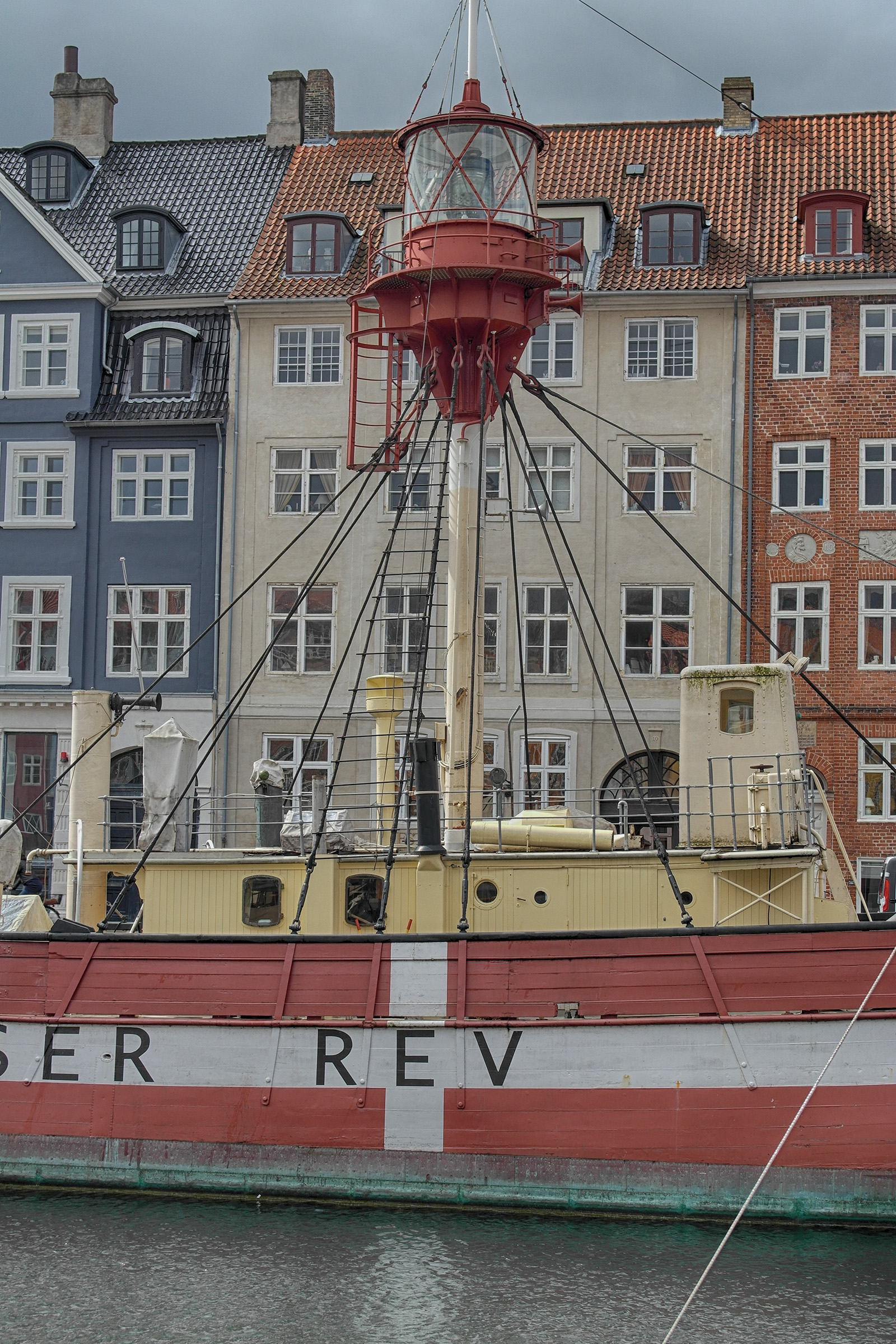 Leuchtturmboot in Kopenhagen