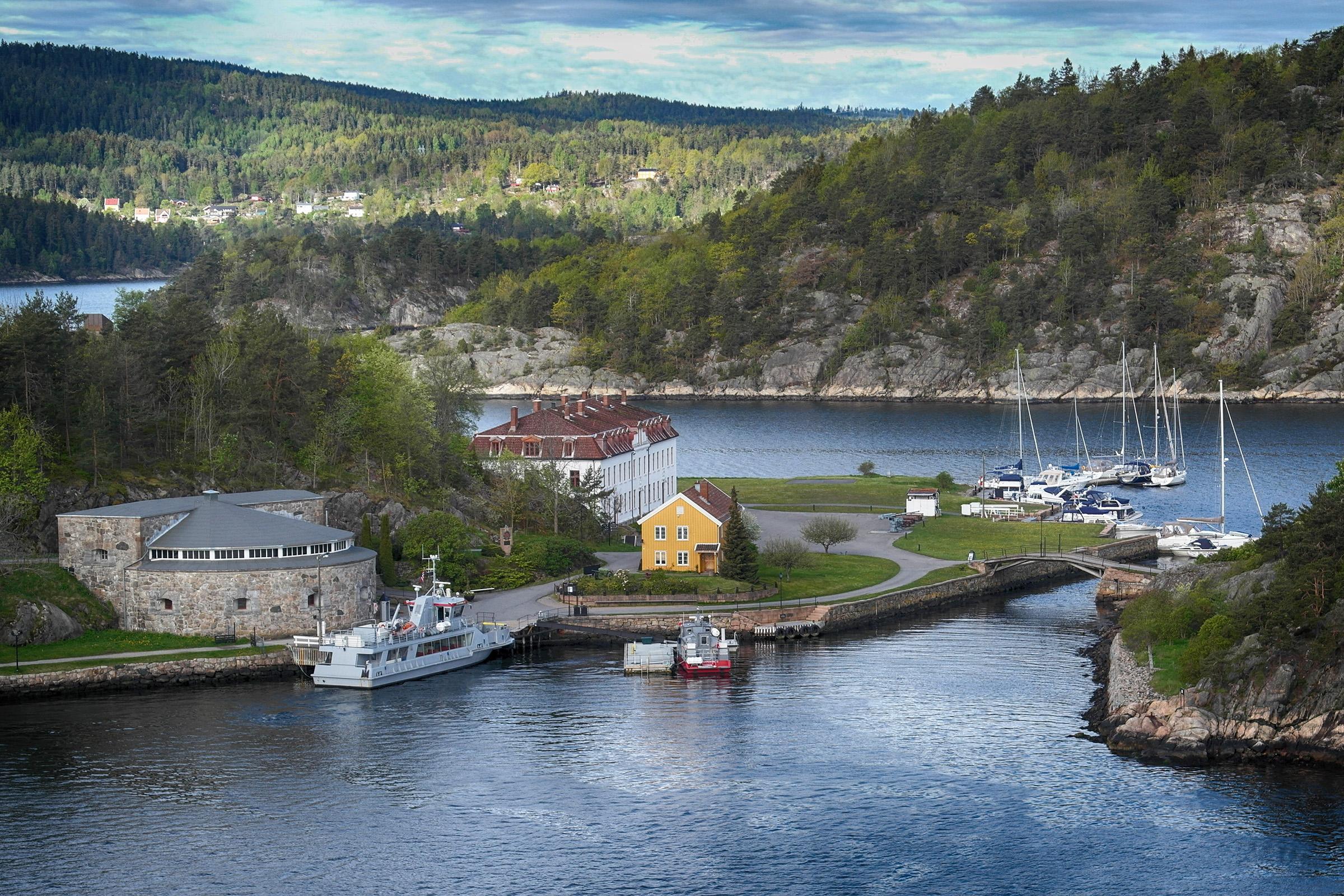 Fjord vor Oslo